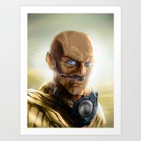 Fremen Warrior - Dune Art Print