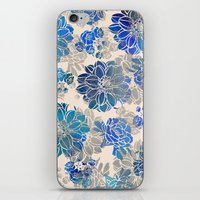 Flower Pattern Design #2 iPhone & iPod Skin