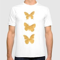 A Study In Flight Mens Fitted Tee White SMALL