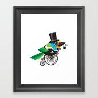 Life Is A Beautiful Ride Framed Art Print