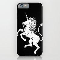 unicorn iPhone & iPod Cases featuring UNICORN by Matthew Taylor Wilson
