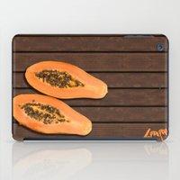 Papaya Fruit iPad Case