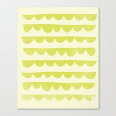 Scalloped Canvas Print