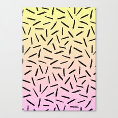 Candy Gradient Scribble … Canvas Print