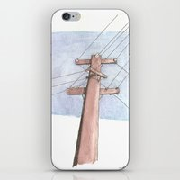 In A Network Of Lines Th… iPhone & iPod Skin