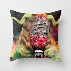 Sensory Saturation Throw Pillow