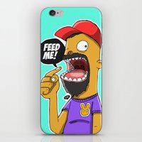 Feed Me! iPhone & iPod Skin