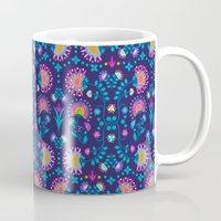 Folkloric In Blue Mug