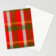They've Gone Plaid Stationery Cards