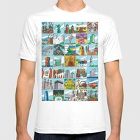 Barcelona anno 1 Mens Fitted Tee White SMALL