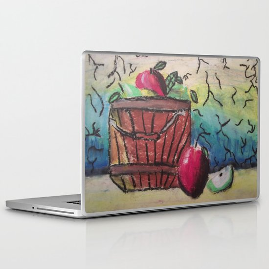 Basket of Apples Laptop & iPad Skin
