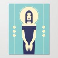 Phaedra Blue Canvas Print