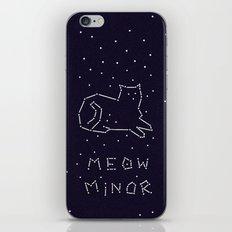Cat Constellation (Meow Minor)  iPhone & iPod Skin