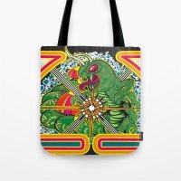 Classic Centipede Woodcu… Tote Bag