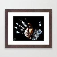 Fringe Framed Art Print
