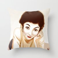 Tautou Throw Pillow