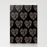 Hearts Heart Multiple On… Stationery Cards