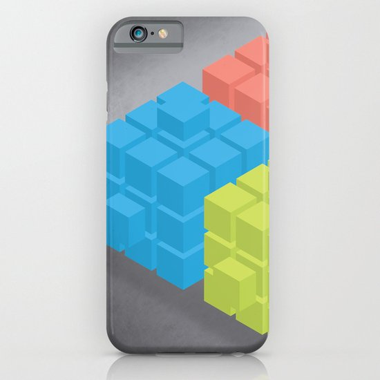 Cubes iPhone & iPod Case