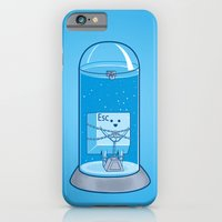iPhone & iPod Case featuring The Great Escape Artist by Fathi