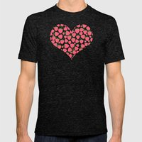Strawberry Sweet Minis - Pink Mens Fitted Tee Tri-Black SMALL