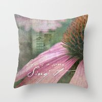 Life Is A Song Throw Pillow