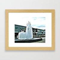 Fountain Framed Art Print