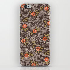 Floral Pattern 1 iPhone & iPod Skin