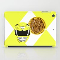Yellow Ranger iPad Case