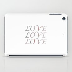 Love, love, love iPad Case