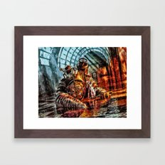 Bioshock Mr Bubble's Please Get Up Framed Art Print