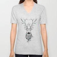 Poetic Deer Unisex V-Neck
