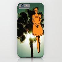 Palm Tree Girl  iPhone 6 Slim Case