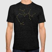 Sagittarius X Astrology … Mens Fitted Tee Tri-Black SMALL