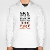 Sky Earth Fire Hoody
