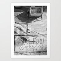 Soul Food, Jook Joint Art Print
