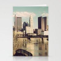 Columbus Ohio 3 Stationery Cards