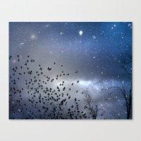 Star Dust Canvas Print