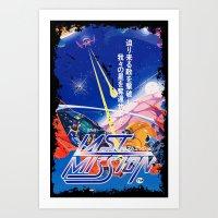 Last Mission Art Print