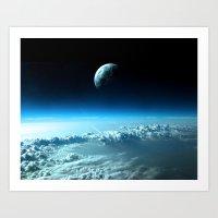 Outter Earth Art Print
