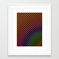Geometric Abstraction. Framed Art Print