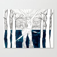Druid Tree Canvas Print