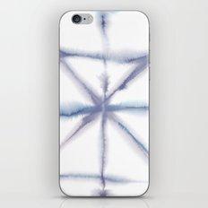 Light Dye - Folding Blues iPhone & iPod Skin