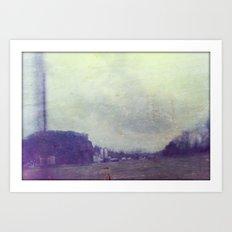 Industrial Landscape #1 Art Print