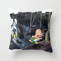 Snow White & The Huntsman Throw Pillow