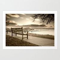 Dreaming The Day Art Print