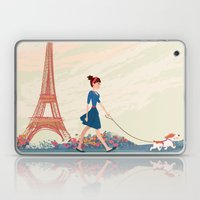 An Afternoon Stroll In P… Laptop & iPad Skin