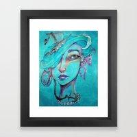 Pearl's Water Ways Framed Art Print