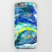 iPhone & iPod Case featuring Geometric Wave by AJJ ▲ Angela Jane Johnston