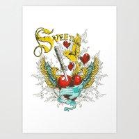 Sweet flight  Art Print