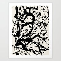 Cheers To Pollock Art Print